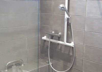 Rénovation d'une salle de bain sur Vaulx Milieu(38) – Hiver 2019