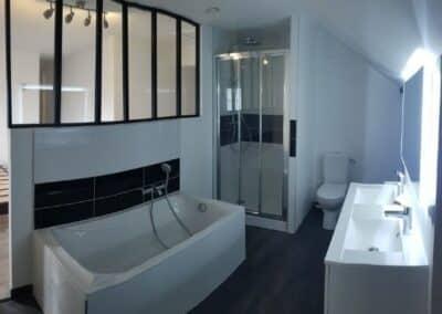 Création d'une suite parentale avec salle de bain sur Tignieu-Jameyzieu (38) – été 2020