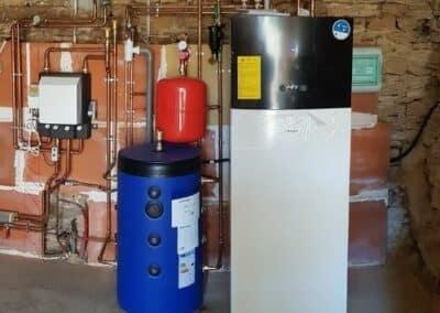 Installation d'une pompe à chaleur sur Annoisin-Chatelans (38) – Eté 2020